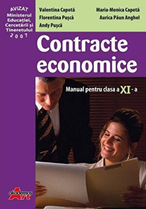 Contracte economice. Manual clasa a XI-a