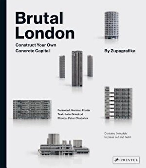 Brutal London: Construct Your Own Concrete Capital, Hardcover