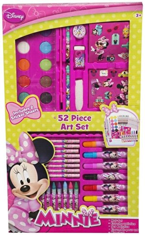 Minnie Mouse - Set pictura si desen, 52 piese
