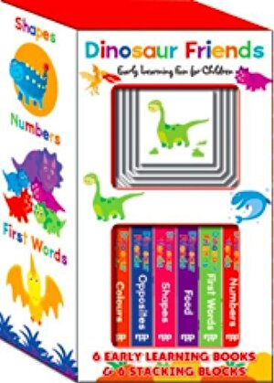 Early Learning Boxes Set - Dinosaur Friends