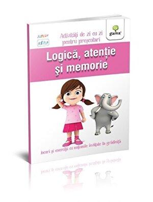 Logica, atentie si memorie. Activitati de zi cu zi. 3-4 ani
