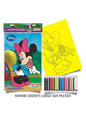 Plansa pictura nisip L, Minnie cu acadea
