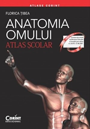 Anatomia omului. Atlas scolar.