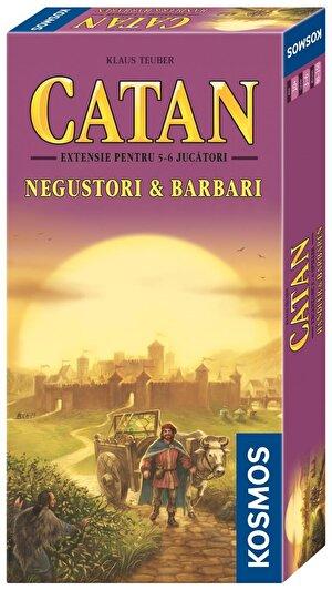 Catan - extensie Negustori & Barbari 5/6 jucatori