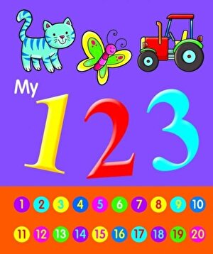 My 123 Book Pre School / Nursery over 20 pgs of colourful pictures & Numbers