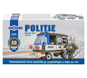 Momki - Politie, Masina mica politie, 58 piese