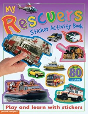 My Sticker Activity Books Rescuers