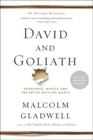 David and Goliath: Underdogs, Misfits, and the Art of Battling Giants, Paperback