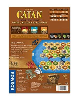 Catan - scenarii Comori, Dragoni & Exploratori