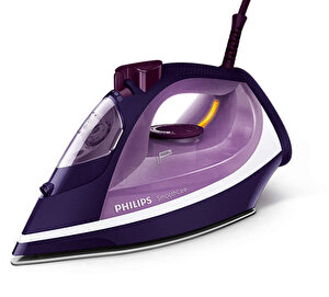 Fier de calcat Philips Smooth Care GC3584/30, Talpa EasyFlow Ceramic, 2600 W, 0.4 l, 180 g/min, Functie curatare Calc Clean, Mov