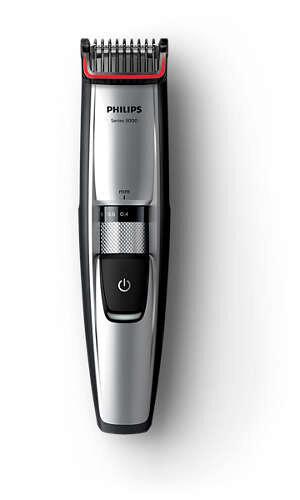 Masina de tuns barba Philips BT5205/16, Acumulatori, Lame din otel, 0.4 - 7 mm, 17 Trepte, Argintiu