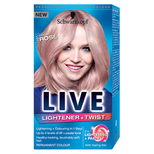 Vopsea de par Live Color Lightener, 101 Rose Blonde