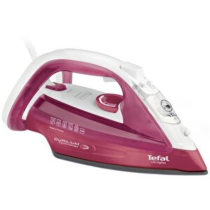Fier de calcat Tefal Ultragliss, FV4920, 2400W, 140g/min, Automatic Steam, Roz