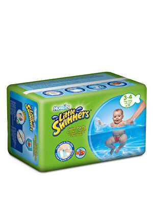 Huggies - Chilotei impermeabili Little Swimmers 3-4, 12 buc, 7-15 kg