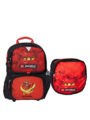LEGO Ninjago, Ghiozdan cu geanta sport detasabila - Kai