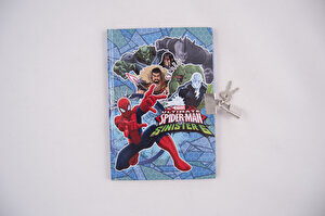 Agenda cu lacatel Spider-Man