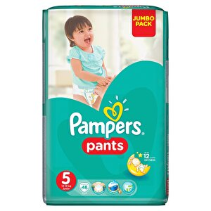 Scutece Pampers Active Baby Pants 5 Jumbo Pack 48 buc