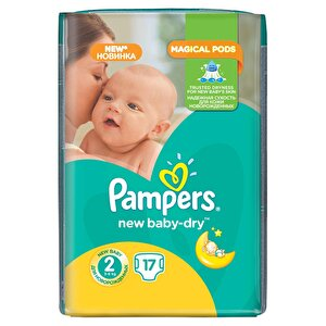 Scutece Pampers New Baby 2 Small Pack 17 buc