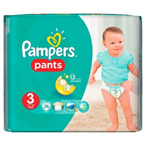 Scutece Pampers Active Baby Pants 3 Carry Pack 26 buc