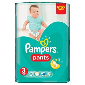 Scutece Pampers Active Baby Pants 3 Jumbo Pack 60 buc