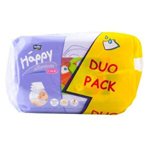 Happy Milk & Honey Servetele umede  duo pack 64 x 2