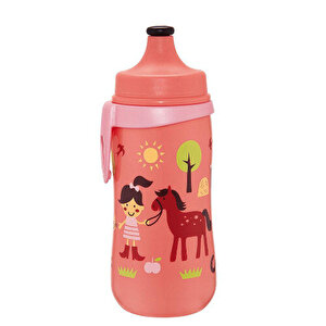 Cana Kids Cup Girl 330 ml Antipicurare cu Clip de Prindere