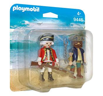 Playmobil Pirates, Set 2 figurine – pirat si soldat de la Playmobil