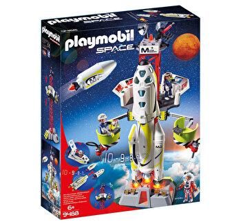 Playmobil Space, Racheta spatiala cu lansator de la Playmobil