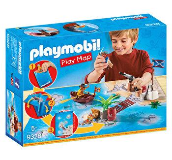Playmobil Play Map, Plansa de joaca – aventura piratilor de la Playmobil