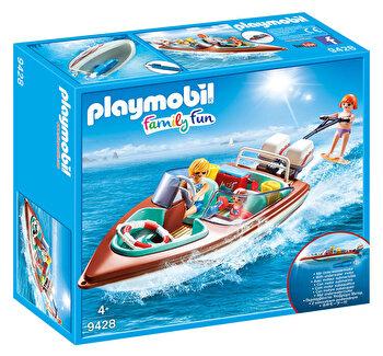 Playmobil Family Fun, Barca de viteza cu motor de la Playmobil