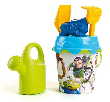 Galetusa cu accesorii pentru nisip, Smoby Toy Story de la Smoby