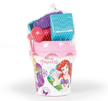 Galetusa cu accesorii pentru nisip, Smoby Disney Princess de la Smoby