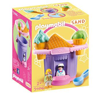 Playmobil Sand, Jucarie pentru nisip – galeata inghetata de la Playmobil