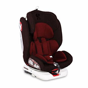 Scaun auto, Roto, Isofix, rotativ 360 grade, 0-36 Kg, Red & Black de la Lorelli