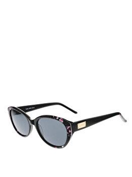 Ochelari de soare Lipsy London 510-1 Black / Flower C1 5518 de la Lipsy London