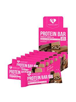 Protein bar – Chocolate Crunch (12 buc.) de la WOMEN'S BEST
