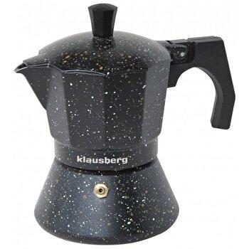 Espressor pentru aragaz Klausberg, 12 cupe, inductie, KB-7161, Negru de la Klausberg