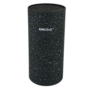 Suport pentru cutite King Hoff, 22 cm, KH-1091, Negru de la KING Hoff