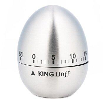 Ceas de bucatarie (timer) KingHoff, pana la 60 minute, KH-3131, Argintiu de la KING Hoff