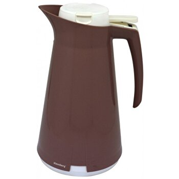 Termos - dispenser pentru ceai sau cafea, Klausberg, 1000 ml, KB-7189-BR, Maro