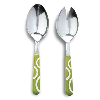 Set de tacamuri pentru salata, Nava, 2 piese, 10-060-043, Verde de la Nava