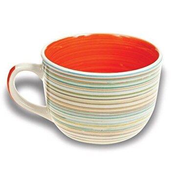 Cana mare din ceramica, Nava, 500 ml, 10-099-008, Portocaliu de la Nava