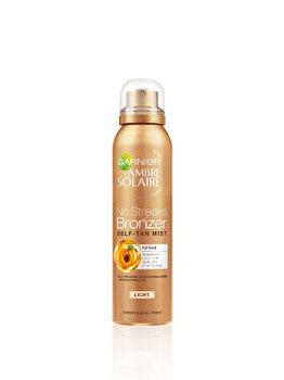 Spray autobronzant Garnier Ambre Solaire pentru ten nuanta deschisa cu SPF0, Light, 75 ml de la Garnier