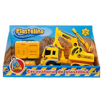 Plastelino – Excavatorul de plastilina de la Plastelino