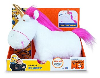 Despicable Me 3 -Plus Unicorn cu functii, 23 cm de la Minions