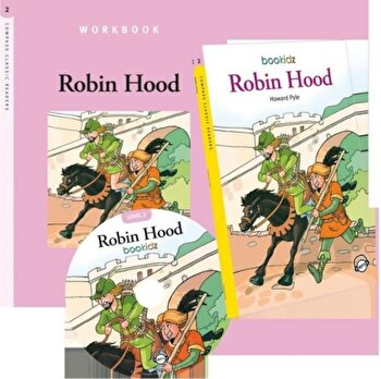 Set Readers 6 Robin Hood/*** de la Mediadocs Publishing