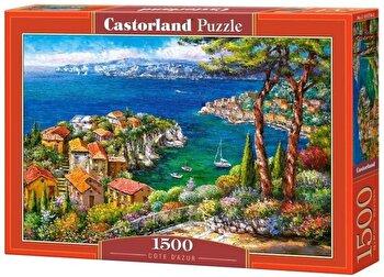 Puzzle Cote Dazur, 1500 piese de la Castorland