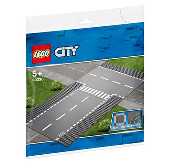 LEGO City, Intersectie dreapta si in T 60236 de la LEGO