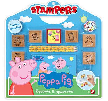 Set stampile Stampers – Peppa Pig de la Art Greco