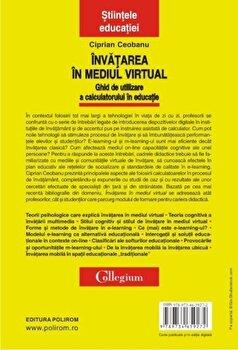 Invatarea in mediul virtual. Ghid de utilizare a calculatorului in educatie/Ciprian Ceobanu de la Polirom